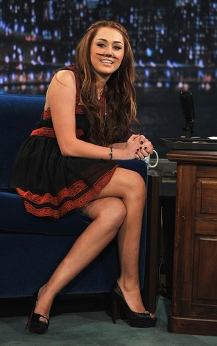 "Miley on ""Late Night with Jimmy Fallon"""