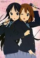 Mio and Yui singing together