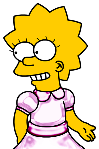 Lisa Simpson wallpaper possibly with animê titled My 100th Lisa Pic
