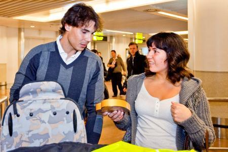 Nadal about breast girl : Oh yeah they are good !!!!