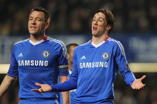 Fernando Torres wallpaper titled Nando - Chelsea(2) vs Manchester United(1)