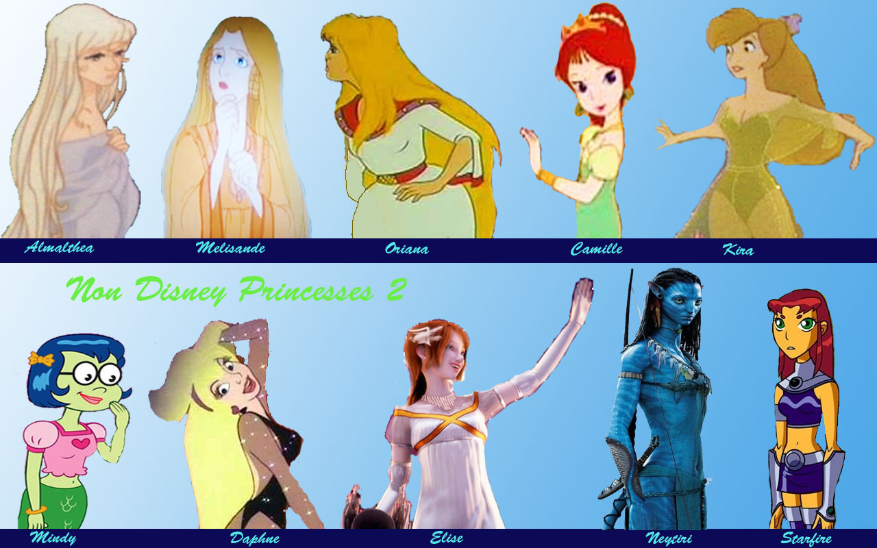 Non-Disney Princess set 2