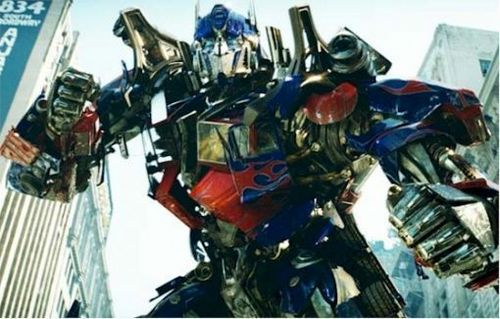 Transformers karatasi la kupamba ukuta containing a rifleman and a navy muhuri called Optimus