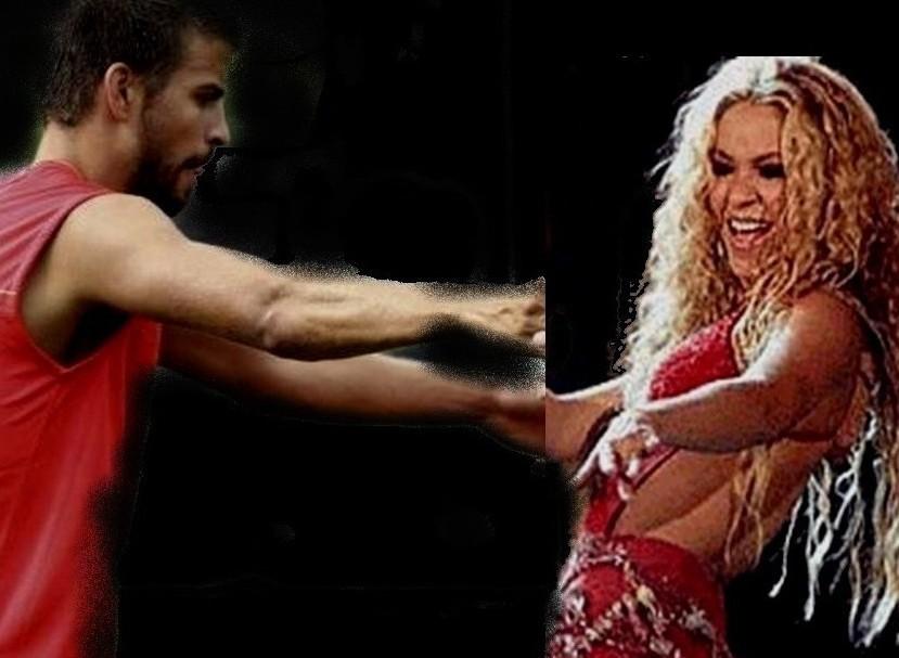 gerard pique shakira. Pique Shakira dancing !