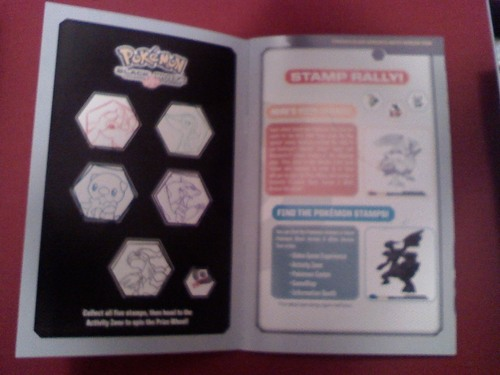Pokemon black and white material
