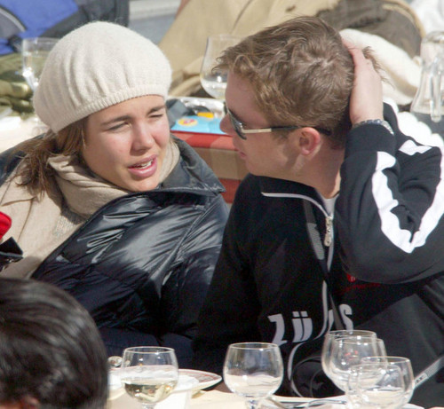 Princess Caroline in Austria With Her Family