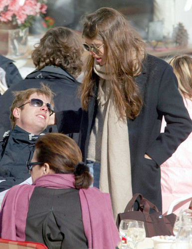 Princess Caroline in Austria With Her Family