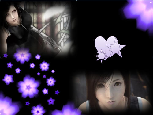 Purple tifa