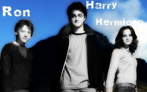 Ron,Harry & Hermione