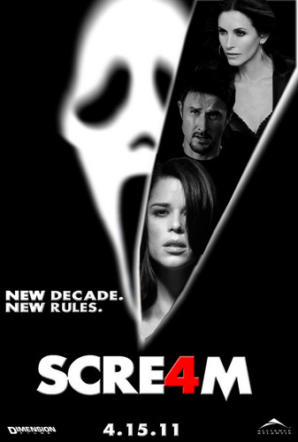 Scre4m' Theatrical Poster by themadbutcher on DeviantArt