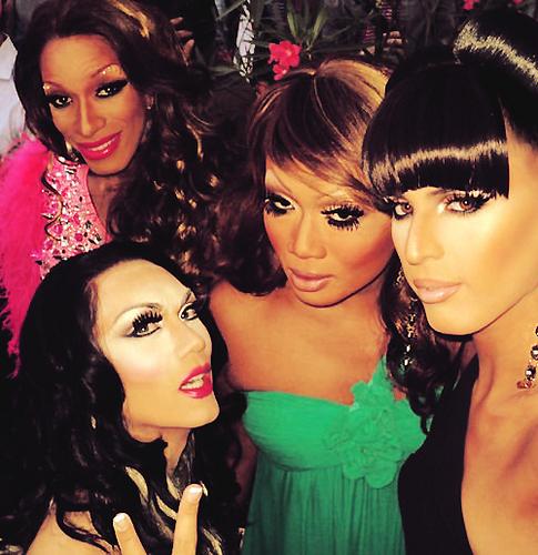 Sahara, Manila, Jujubee & Carmen