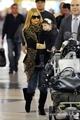 Sarah and Charlotte - LAX Airport 04/03/11