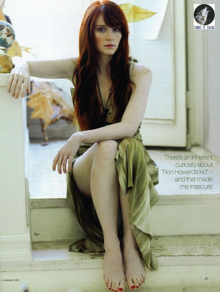 Scan of Bryce in toi Magazine