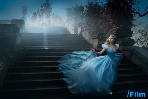 Scarlett Johansson as Cenerentola