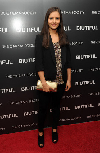 Screening of 'Biutiful' in New York - December 1 2010