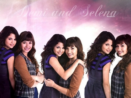 Selena&Demi hình nền ❤