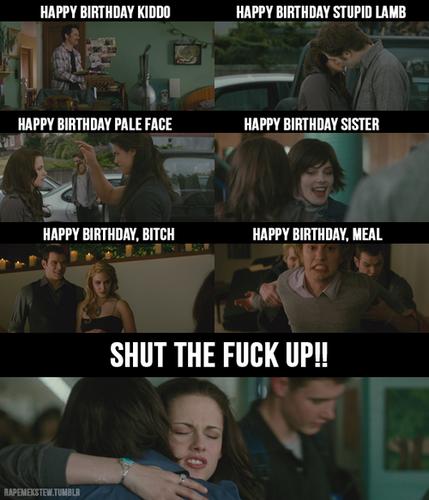 She hates Birthdays