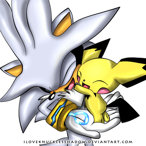 Silver and his Pichu