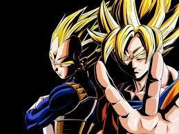 Super Saiyans  Vegeta and Goku