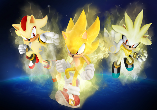 Super Sonic Shadow Silver