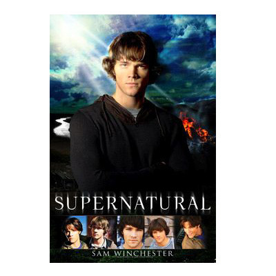 Winchester's Journal kertas dinding possibly with an outerwear and a portrait entitled Supernatural Poster