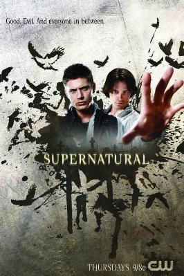 Winchester's Journal wallpaper probably containing a sign, a rifleman, and a newspaper titled Supernatural Posters
