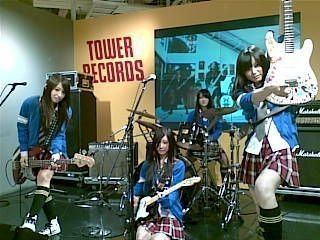 SCANDAL achtergrond titled Switch instruments!! XD