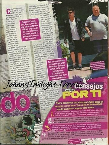 Taylor Lautner in Por Ti magazine thx @JohhnyTwilight