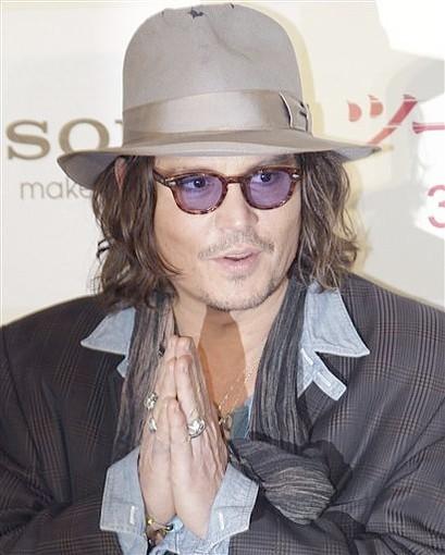 johnny depp 2011 images. Johnny Depp - 2011 March 3