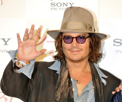 The Tourist Photocall In Tokyo - Johnny Depp - 2011 March 3