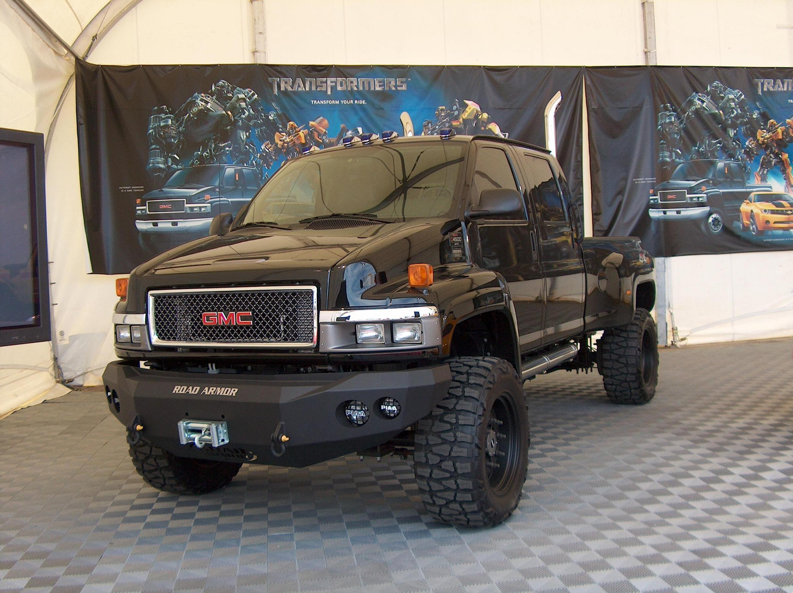 Transformers Ironhide Truck GMC
