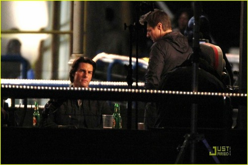Tom Cruise & Jeremy Renner Follow 'Ghost Protocol'