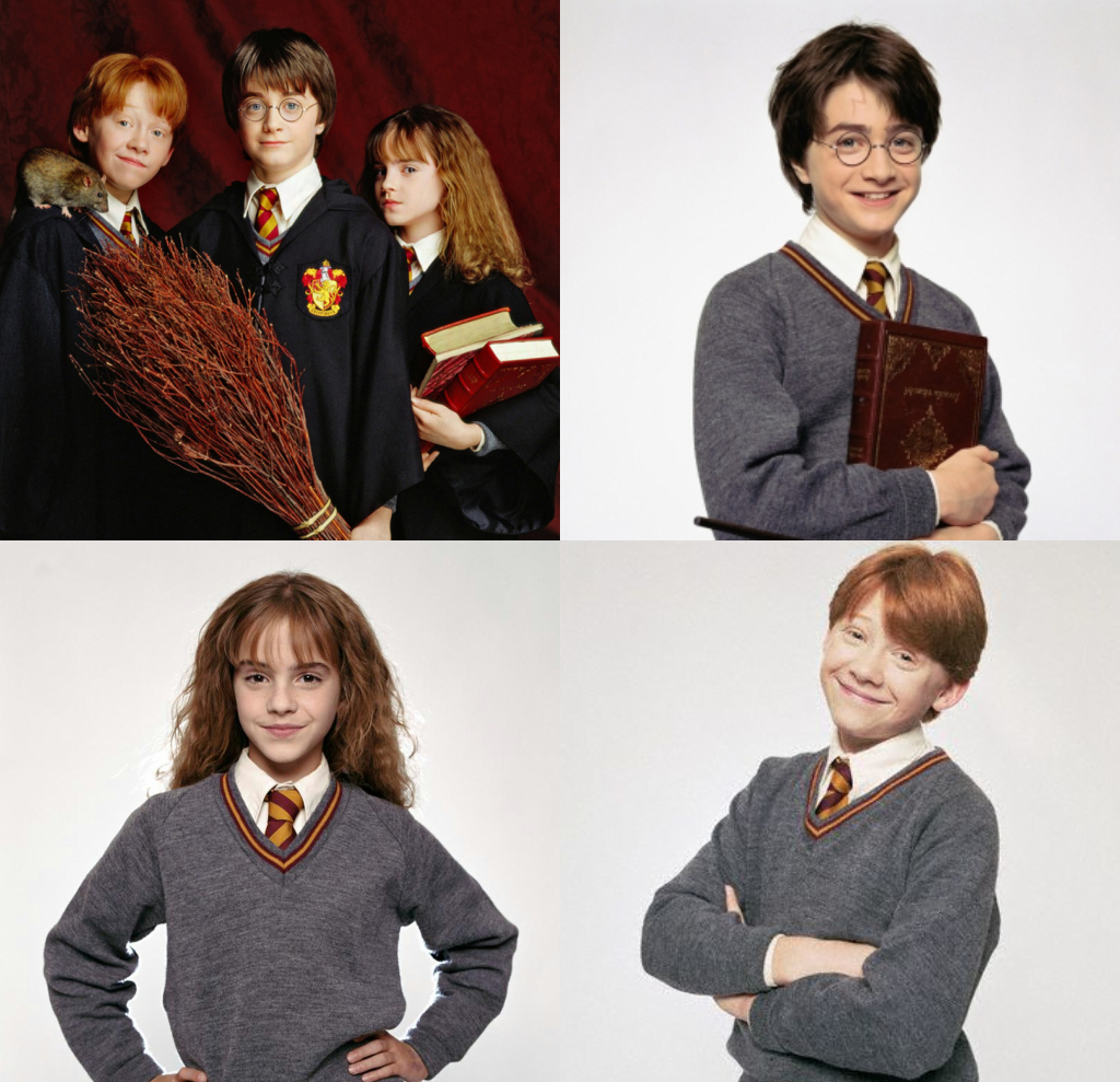 Trio....HARRY-HERMIONE-RON