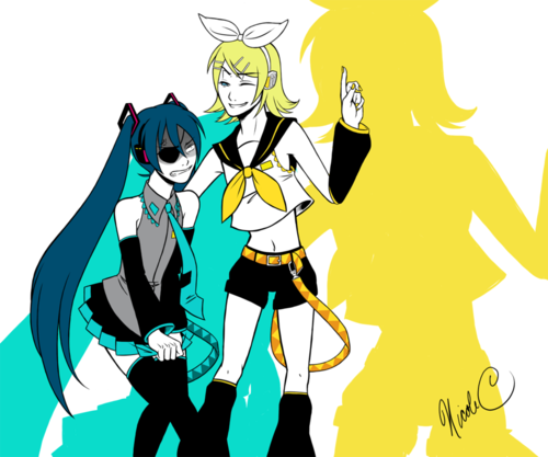 VOCALOID - Alois and Ciel (Rin and Miku)