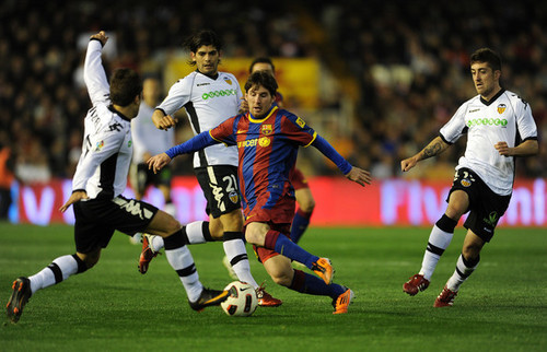 Valencia - Barcelona [La Liga]