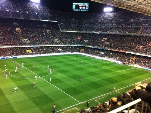 Valencia vs Barcelona (0-1) La liga week 26