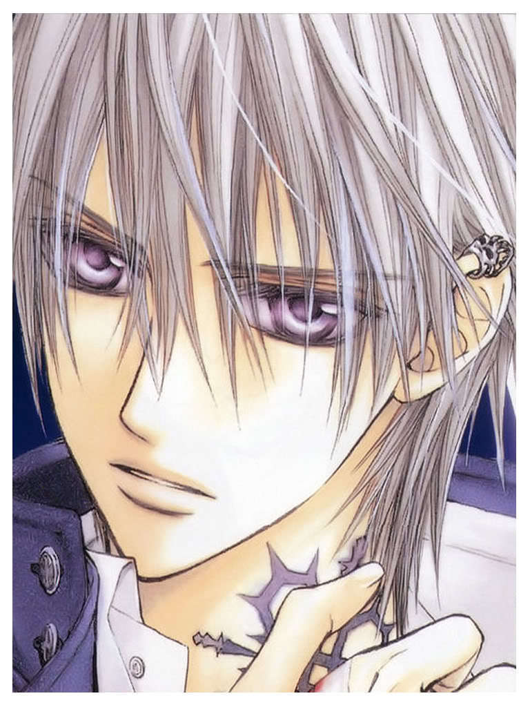 Anime Characters Zero : Zero vampire knight fan art  fanpop