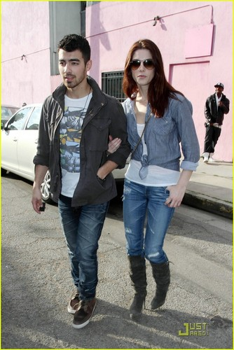 ashley and Joe in LA