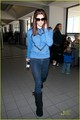 ashley leaves LA for Van - twilight-series photo