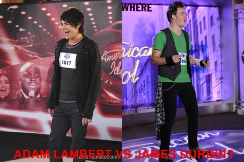 james durbin vs adam lambert