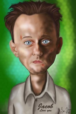 michael emerson caricature