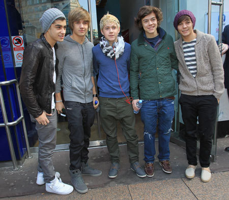 one direction: the 5 most AMAZING boys on the planet!!