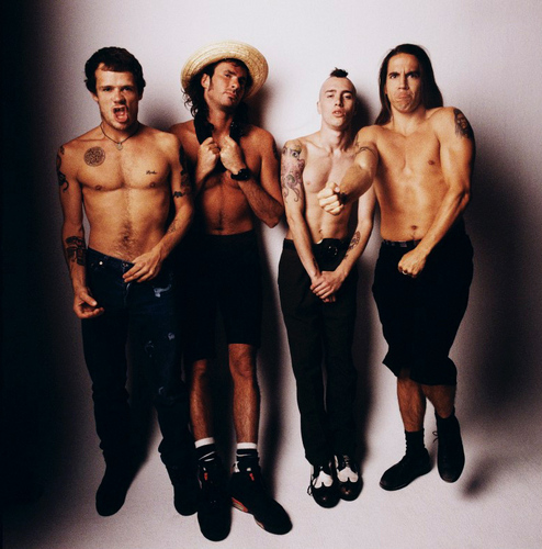 Red Hot Chili Peppers wallpaper probably containing a hunk titled rhcp