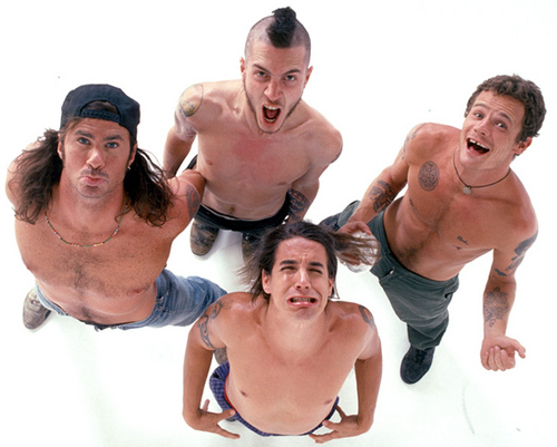 Red Hot Chili Peppers wallpaper containing a hunk, a six pack, and skin called rhcp