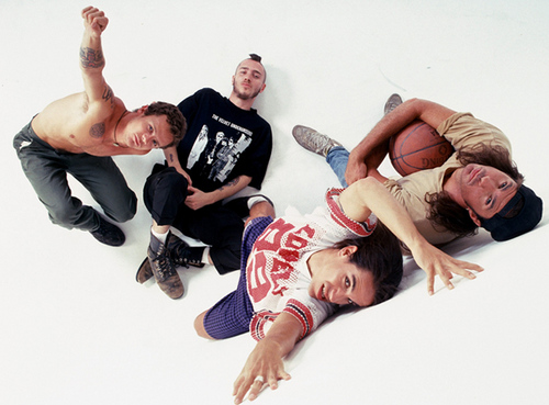 Red Hot Chili Peppers wallpaper entitled rhcp