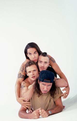 Red Hot Chili Peppers wallpaper probably with sunglasses entitled rhcp