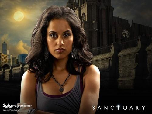 Sanctuary fondo de pantalla with a calle and a portrait titled sanctuary