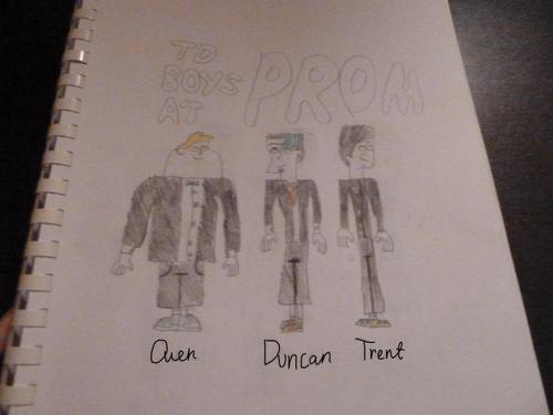 Total Drama Island Hintergrund entitled tdi prom