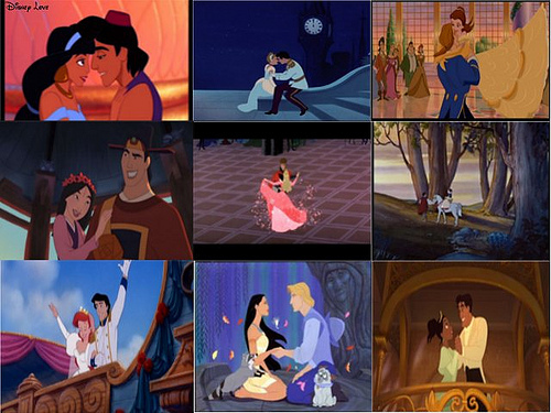 Disney Couples wallpaper possibly with a guillotine called the prince and princess