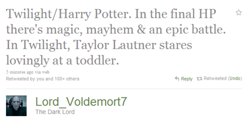 twitter lord voldemort on the twilight vs hp twitter trend